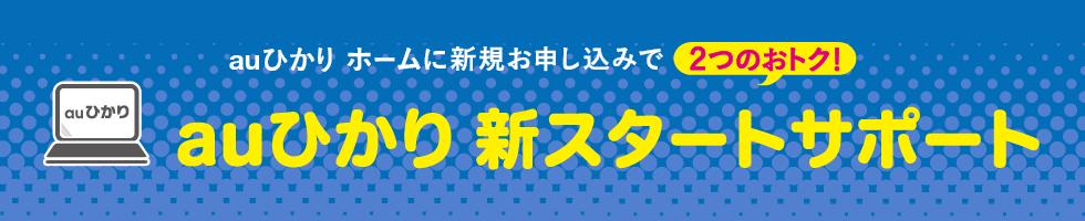 auひかり新スタートサポート(ホーム)